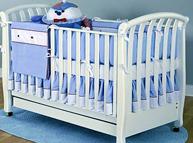 选购婴儿床的注意事项 给孩子最安全的保护