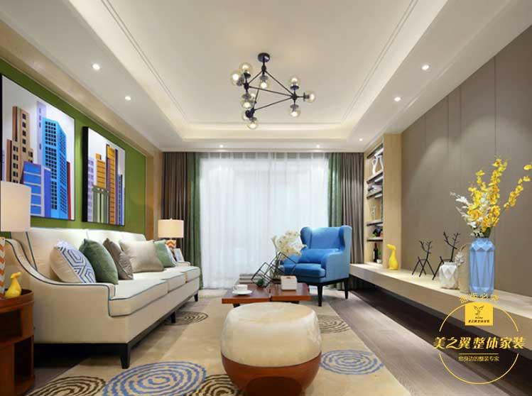 【青园小区】现代 三居室 122㎡