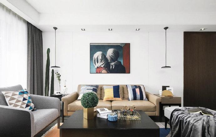【八方小区】现代简约三居室 126㎡