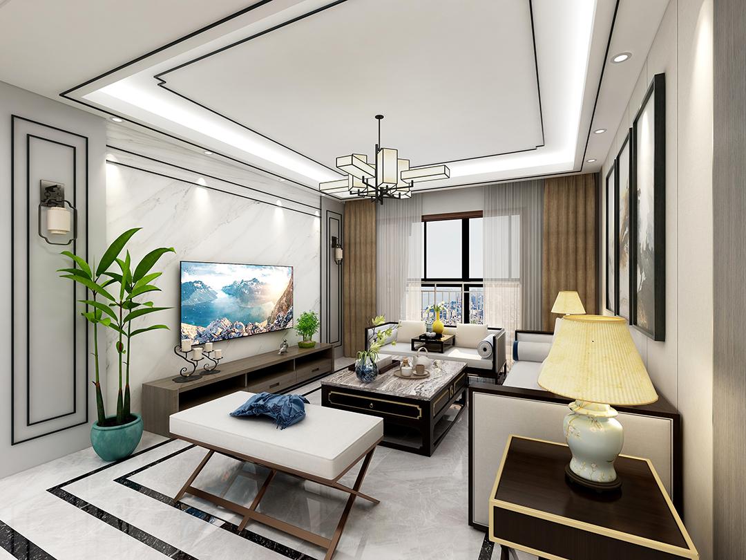 【朝正美苑】 新中式 三居室 115m²
