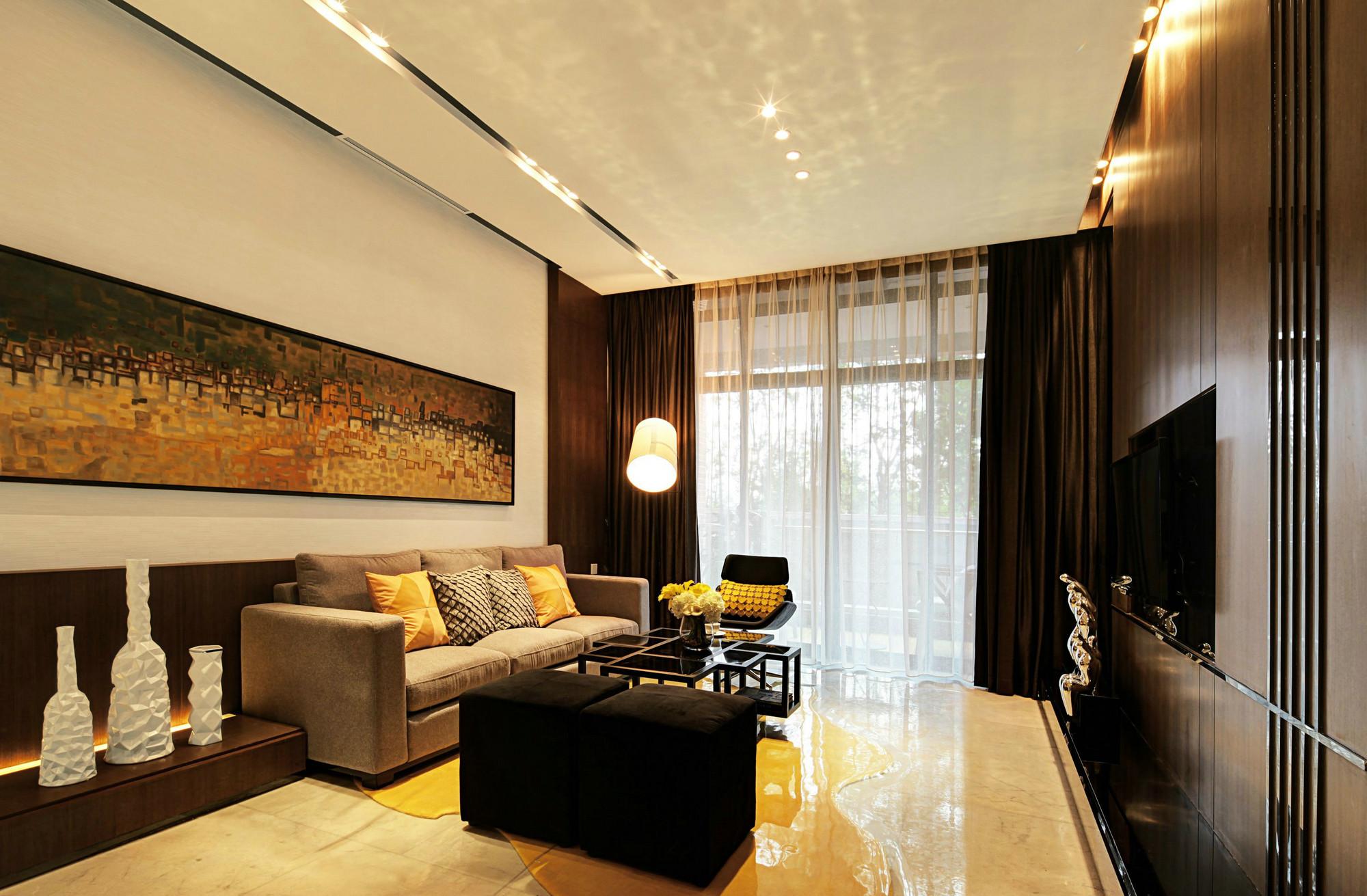 【达美D6区】现代简约 三居室 115m²