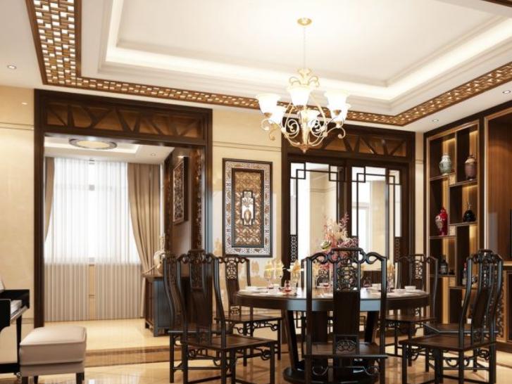 中式家装装修的设计特点?