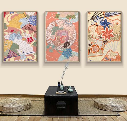 家装装修中我们应该如何选择墙面装饰风景画?