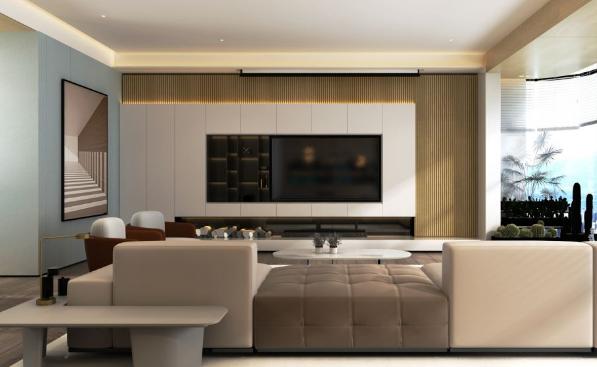 长沙新房装修中,4种客厅隔断装修的方法